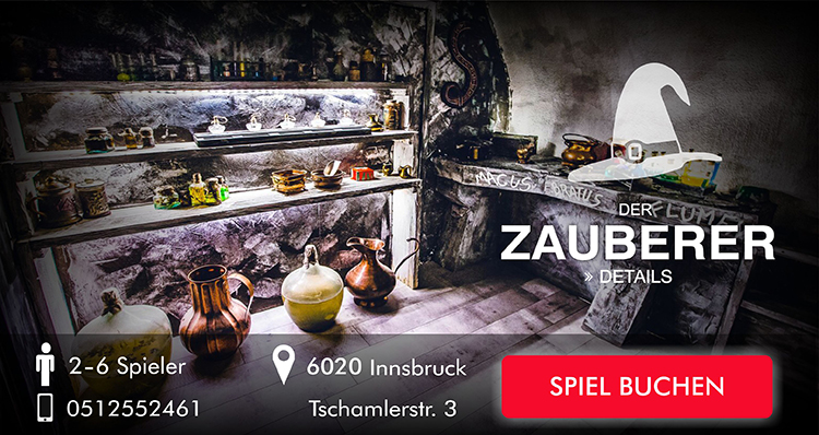 Escape Room Innsbruck - Der Zauberer