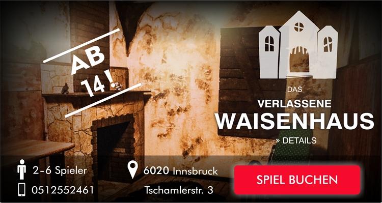 Escape Room Innsbruck - Das verlassene Waisenhaus