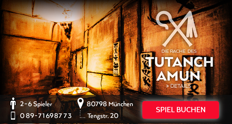 Escape Game - Die Rache des Tutanchamuns