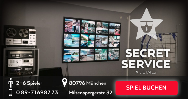 Exit The Room Game: Der Secret Service