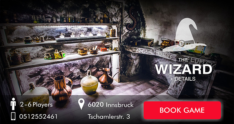 Escape Room Innsbruck - The Wizard
