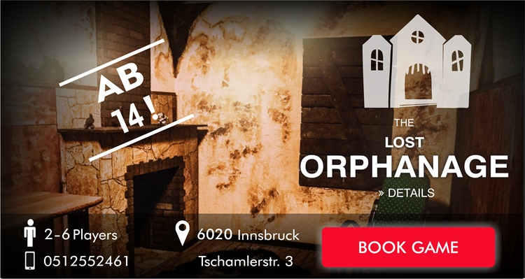 Escape Room Innsbruck - The lost orphanage