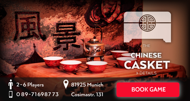 Escape Game The chinese casket