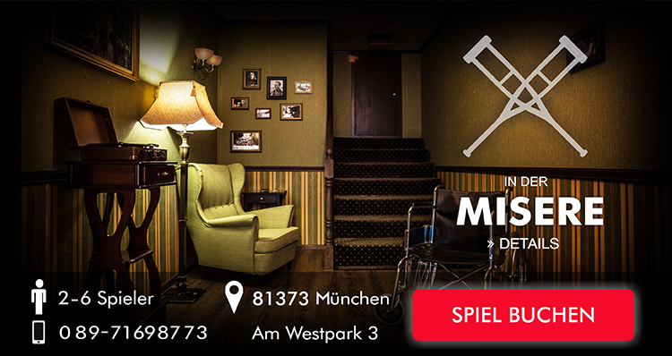 Exit the Room Game in der Misere