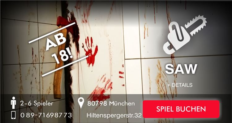 SAW Escape Game München