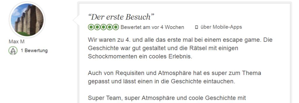 Escape Game Augsburg besuchen