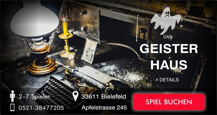 Escape Game Bielefeld Geister-Haus