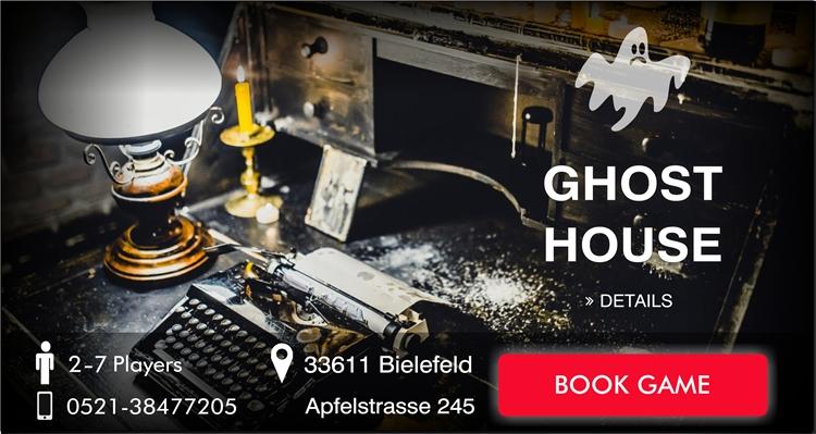 EscapeGame Bielefeld The Ghost House