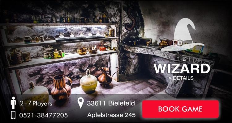 Escape Game Bielefeld The Wizard