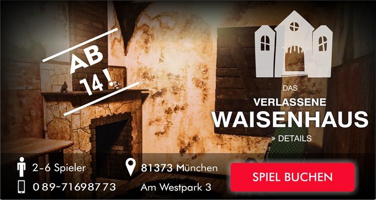 EscapeGame München - Das verlassene Waisenhaus