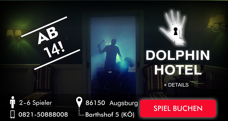 Escape Room Augsburg - Delphin Hotel