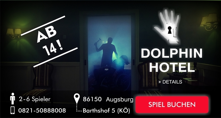 Escape Room Augsburg - Delphin Hotel