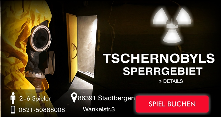 Tschernobyl Sperrgebiet Escape Game