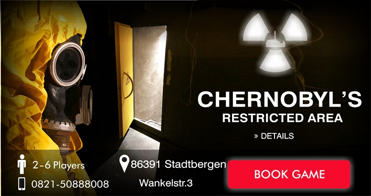 chernobyls restricted area - escape room