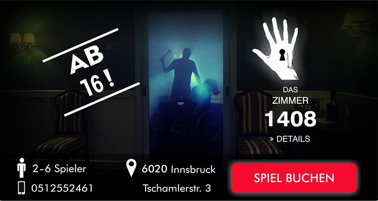 Das Zimmer 1408 Escape Game Innsbruck