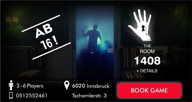Escape Game Innsbruck - The Room 1408