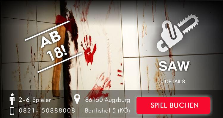 saw augsburg Escape Room comming soon