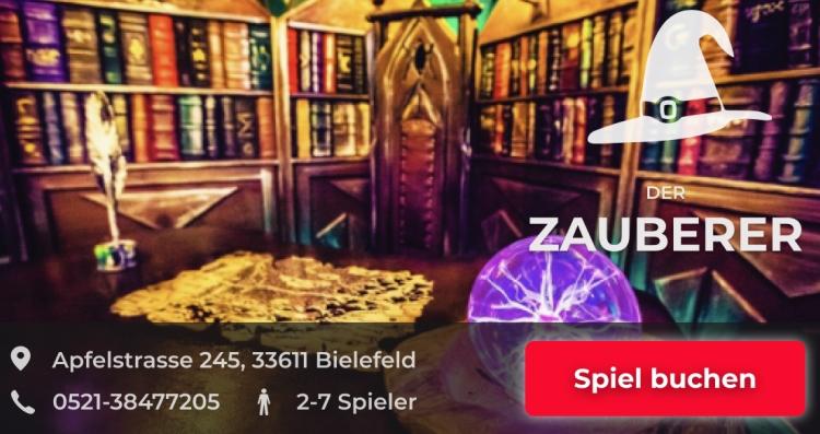 Escapegame Bielefeld Der Zauberer