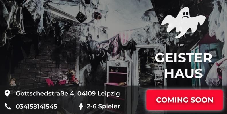 Escape Game Leipzig Das Geisterhaus