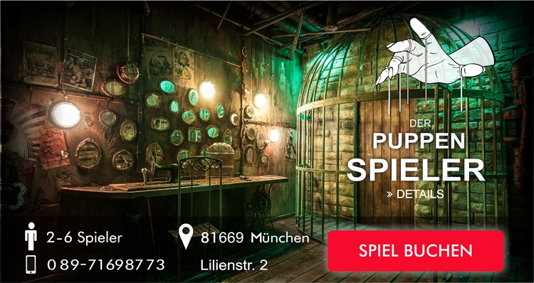 Escape Game - Der Puppenspieler