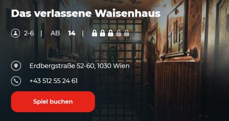 Escape Game Wien - das verlassene Waisenhaus